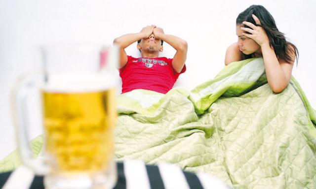 les effets de l'alcool sur les érections